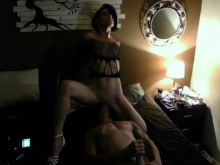 HOT Facesitting MILF and Stud in Best Rimming 69