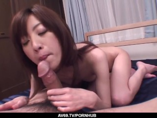 Kanon Hanai fantasy blowjob and sex in raw POV – More at javhd.net