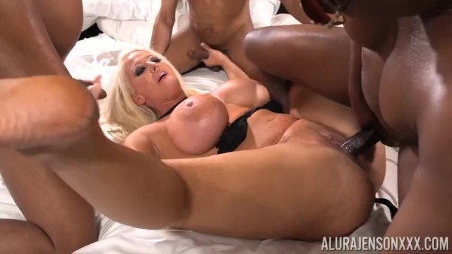 Titty sex trailors Gang of chocolate cocks juice my pussy trailor