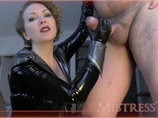 Get fag trained on freak cock...