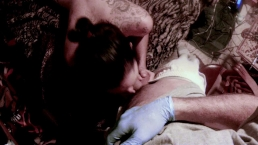 Milf trades blowjob for jailhouse tattoo - Lydia Luxy