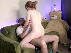 Using my neighbors cock to cum multiple times