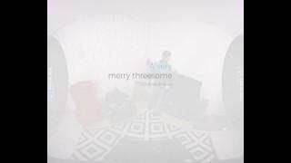 VirtualRealGay.com - A very merry threesome Black gay