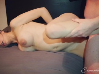 Naughty Stepdaughter Episode 5 – Dad fucks handcuffed stepdaughter. She thinks it's her boyfriend!