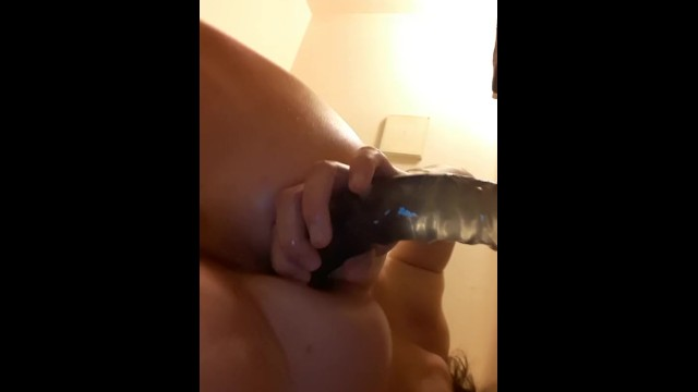Oily anal shower play 5