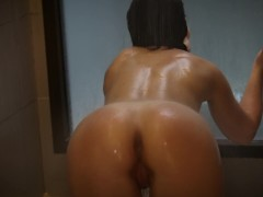 Exhibitionist Wife Playing With Toys In Shower - Naughtysoulmates