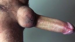 Horny Teen Wanks Off His Big Cock