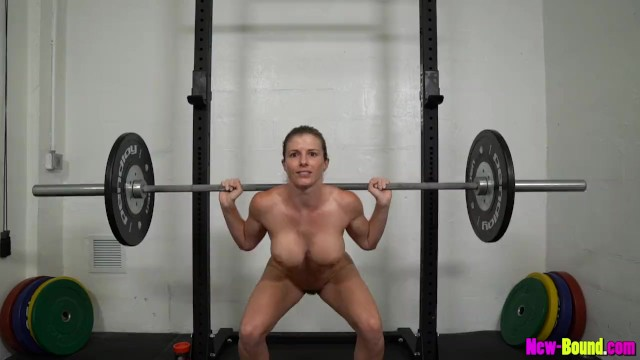 Women naked models Muscle milf works out naked - cory chase