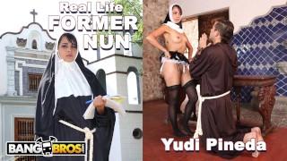BANGBROS - Blasphemous Ex Catholic Nun Yudi Pineda Commits Unholy Act!