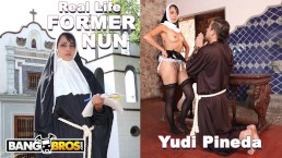 BANGBROS - Blasphemous Ex Catholic Nun Yudi Pineda Commits Unholy Act!