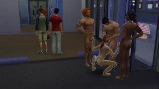 Gym Gangbang