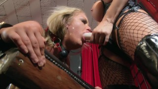 Strapped to a Bench and Fucked - The Initiation of Roxi ft Jasmine Jae 4K