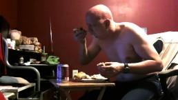 piggy eating and burping 1/7/19