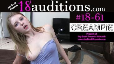 #18-61 18yo Rough Millenial Creampie - Grown Man Dick Time