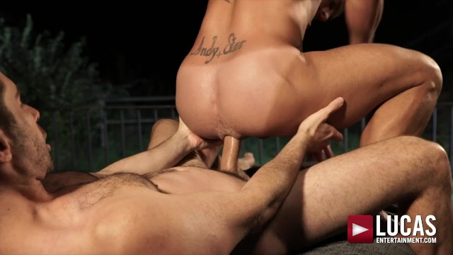 Gay porno star Michael Lucas