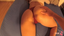 POV Morning Tease and Hot Babe Fuck SEXLUNI
