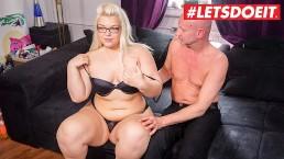 LETSDOEIT – Chubby German Teen Gets Filmed Fucking Her Sugar Daddy