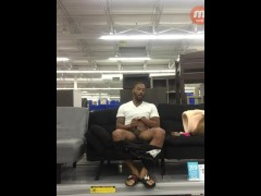 Duriel Hines - Famous Walmart Jack Off Video
