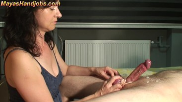 edging helpless cock and 2 cumshots