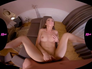 18VR Step Sister Sybil A Punishes You With Hot Taboo Fuck For Spying On Her