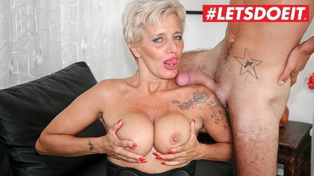 LETSDOEIT - Mature Italian Granny Gets Rough Sex at Porn Casting