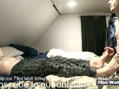 Straight married dad massaged (onlyfans.com/Flint-Wolf)