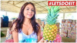 LETSDOEIT -フレッシュなコロンビア人の10代女性が初めてのポルノ撮影