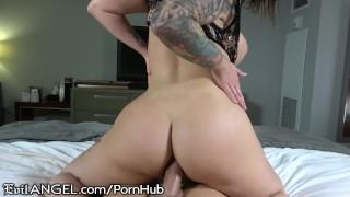 EvilAngel Juicy Ass Ivy Lebelle's POV Anal Ride on Jessy Jones