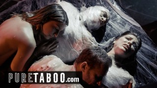 pure taboo alien couples must perform live sex shows – teen porn