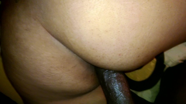 Horny redbone loves anal but cant handle her neighbors huge dick in her as 5