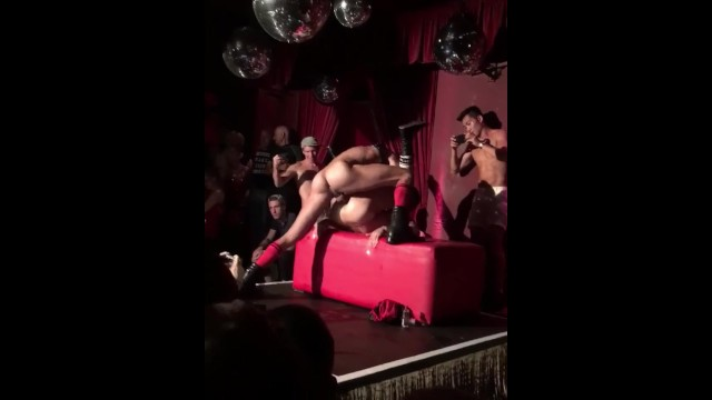 Heaven gay club nyc - Guy fucks on stage in club