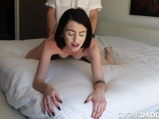 REAL STORY. 18yo Teen Fucks SugarDaddy To Pay For REAL BF Vacation.