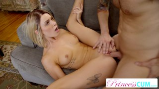 PrincessCum - Getting Teen Pussy Creamed Deep By StepBro S2:E10