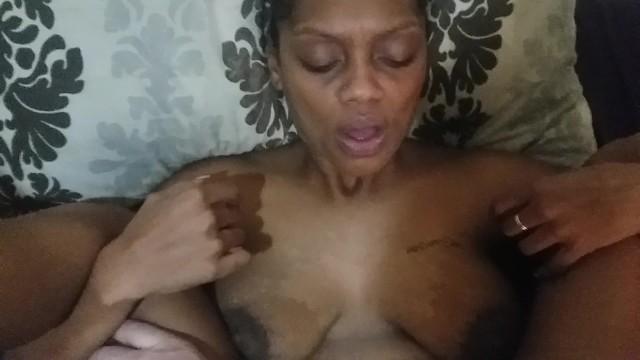 Cute ebony fucks for a quick creampie 13