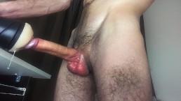 Horny Male Big Cum Mess On Fleshlight