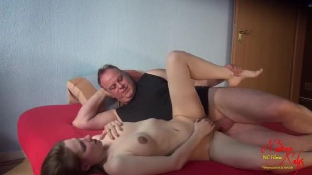 Grandpa Fuck The Hairy Teen Pussy Creampie - Nadine Cays 14