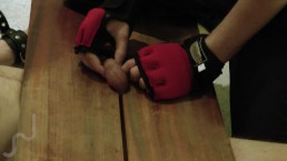 Balls trampled and busted in trampling-box (soft-medium ballbusting)