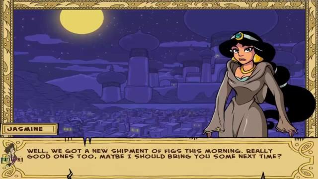 Akabur's Princess Trainer Gold Edition Part 3 Hot Sexy Jasmine Love