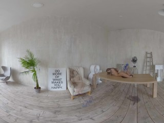 StasyQVR – 180 VR Porn Video – Body Stocking Bombshell with MeganQ