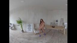 StasyQVR - 180 VR Porn Video - Body Stocking Bombshell with MeganQ