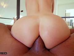 Rammed - Kleio Valentien has her ass stretched out by a big black cock