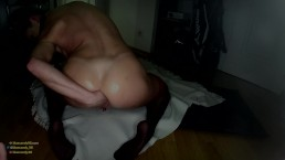 Bluecandy_96's First Ass Fingering, Anal Fisting Video