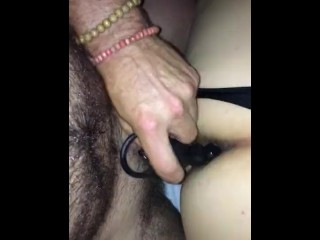 Getting ass ready to take my cumming together...