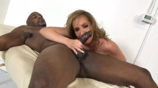 Hot busty Richelle massage room fuck with Nat bbc