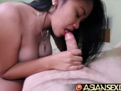 Asian Sex Diary - Asian big boobed sluts gets white cock