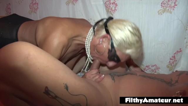 Granny deep throat videos Rich granny squirt and deep throat with rasta milf