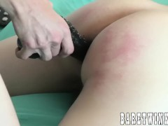 Bound Ashton Franco barebacked by costumed young gay