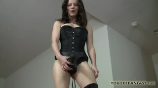 Bisexual porn female training domination and strapon adult