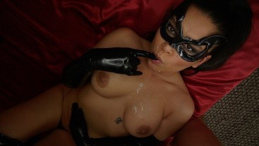 Diamond In The Rough - Meana Wolf - Anal Batman Cosplay Latex Boots