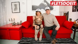 LETSDOEIT - Horny Italian Mature Couple Loves Anal Fucking